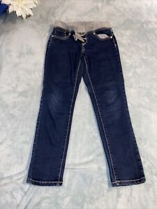 Justice 14R Simply Low Super Skinny Jeans. Elastic Waist