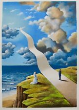 "RAFAL OLBINSKI ""Shape of Intimate Illusion"" Hand Signed Ltd Edition Serigraph"