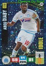 398 ABOU DIABY OLYMPIQUE MARSEILLE OM ARSENAL IDOLE CARD ADRENALYN 2017 PANINI