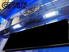 Xenon White 24 SMD LED License Plate Light for 14-18 SUBARU WRX STI V1 MY15