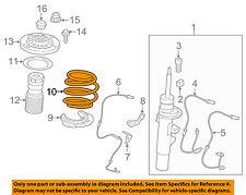 BMW OEM 11-17 X3 Front Suspension-Coil Spring 31336787143