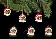 Árbol de Navidad Joyas - Calaveras Pap�� Noel - 6er Set - Decoración Gótico