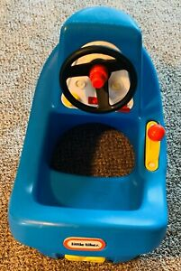 Little Tikes Child Size Blue Little Tug Boat Clean in Great Cond FREE SHIPPING