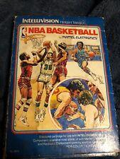 NBA Basketball (Intellivision, 1980)