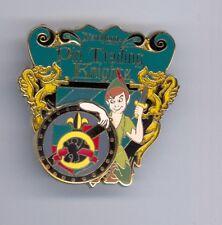 Ptn Disney Disneyland Knights of Pin Trading Nights Knight Peter Pan Le 500