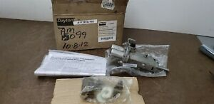 "Dayton 4KHP1 3/8"" 316 Stainless Steel Rotary Gear Pump Head Pedestal 125 psi New"