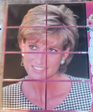 Uk Princess Diana phonecards new. Puzzle set of 8. Limited Edition 400 only.
