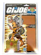 GI Joe 1988 LIFELINE V2 TIGER FORCE MEDIC Full Uncut File Card Hasbro ARAH