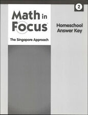 Grade 2 Math in Focus Homeschool Answer Key for Student Books & Workbooks 2nd
