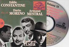 CD CARTONNE CARDSLEEVE 25T DARIO MORENO/ARMAND MESTRAL/GEORGES ULMER/CONSTANTINE