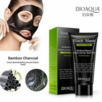 Bamboo Charcoal Black Deep Cleaning Peel Off Remove Blackhead BIOAQUA Face Mask