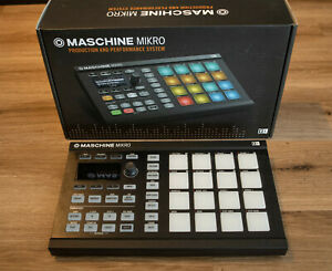 Native Instruments Maschine Mikro Mk2 Midi-USB-Pad-Controller top Zustand in OVP