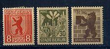Germany  Stadt Berlin  1945 three mint Hinged