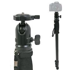"69"" Adjustable Monopod w/ Ball Head Camera Stand Aluminum Dslr Canon Nikon Sony"