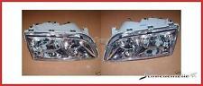 Scheinwerfer-Satz chrome Volvo S40 V40 Bj. 00-02 (Doppelreflektor)