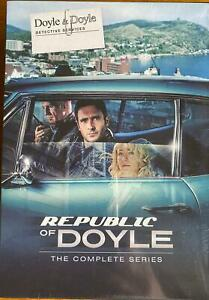 Republic Of Doyle The Complete Series 1,2,3,4,5,6 DVD Box Set
