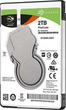 """Seagate FireCuda 2 TB Internal 7200 RPM 2.5"""" Hard Drive -ST2000LX001 SSHD 2TB"""