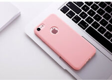 Candy Color Silicone Case for iPhone 6 7 8 Plus 5s SE X Original 360 Body Cover