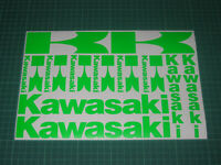 Kawasaki Decals Stickers Graphics Motorbike Tank Fairing Helmet Wheels Bike