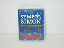 Vintage 1988 NOS Symbol Simon Picture Puzzle Card Game University Games SEALED