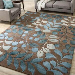 Abstract Flower Art Carpet For Living Room Bedroom Anti-slip Floor Mat Fashion K
