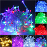 10/20/30/50/100 LED String Fairy Lights Battery Operated Xmas Party Room Decor
