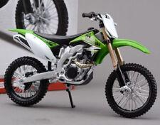 KAWASAKI KXF450 - 1:12 Die-Cast Motocross Mx Motocicleta Modelo Juguete Maisto