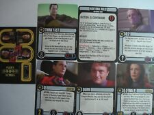 Star Trek Attack Wing Q-Continuum OP Grand Prize Card Token Set Pack New