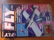 5µ?§ Revue FLY n°68 Plan en encart Super Blanik / S5 Sokol Fokker DR1 XROE-1