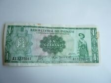 PARAGUAY 1 Guaran  World Currency only $1.00 to ship buy it now for $2.00!