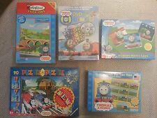 NEW 5 Thomas Tank Engine Bundle Puzzle Colorforms DVD Bingo Memory Tic Tac Toe