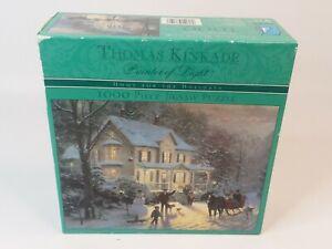 "Thomas Kinkade Home For The Holidays 1000 Piece Jigsaw Puzzle 27"" X 20"""