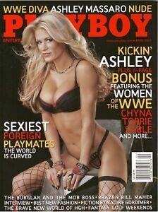 PLAYBOY Magazine Collector's Edition April 2007 Ashly Massaro WWE Torrie & Sable