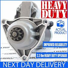 FITS VW MULTIVAN/CALIFORNIA T4 VAN 2.5TDI 1995-2003 UPRATED NEW STARTER MOTOR
