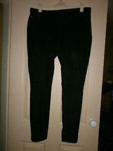Joules Super Skinny Black Jeans Size 16.
