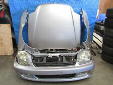 JDM 97-01 Honda Prelude 5th Gen BB6 BB8 Front Nose Cut Conversion F20b