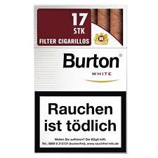 5 x Burton White Original  Filter Zigarillos 170 St/Stg(0,118€=1St)