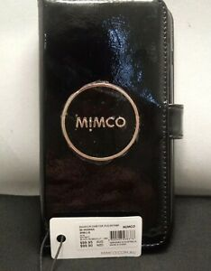 BNWT MIMCO Enamour Flip Case For iPhone 8P 7P  6P Black Rose Gold FREE Post!