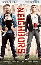Neighbors (2014) Movie Poster (24x36) - Seth Rogen, Zac Efron, Rose Byrne NEW