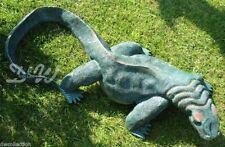WARAN 90 cm lebensgroß Garten Deko Tier Figur LEGUAN ZOO Reptilien ECHSE Reptil