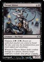 THROAT SLITTER Planechase 2012 MTG Black Creature — Rat Ninja Unc