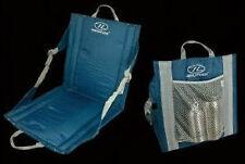 HIGHLANDER Campeggio Outdoor Sedia Sedile 40 x 38 x 40 cm blu impermeabile spalmato nuovo