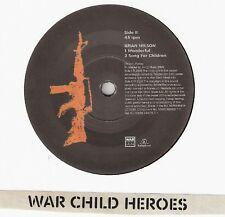 "Rufus Wainwright Brian Wilson Wonderful 7"" Mint! Rare! War Child"