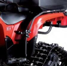 HONDA 420 500 ATV PASSENGER FOOT PEGS DOUBLE RIDE 09-14 FOREMAN TRX FENDER GUARD