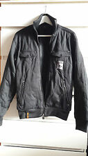 Mens Womens Adidas SAFETY Denim black  Jumper Jacket   size S