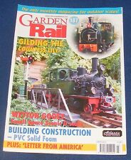 GARDEN RAIL ISSUE 187 MARCH 2010 - GILDING THE COUNTESS LILY