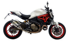 Ducati Monster 821 Dark ABS 2014 14 MARMITTA TERMINALE DI SCARICO LEOVINCE IN AC