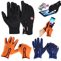 Unisex Women Men Touch Screen Cycling Warm Windproof Gloves Mittens Smartphone