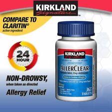 Kirkland Signature AllerClear 365 Tablets 10mg Loratadine
