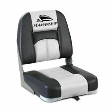 Seamanship Folding Boat Seat - 2 Pieces Grey